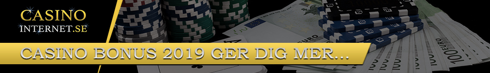Casino Bonus 2019 - CasinoInternet