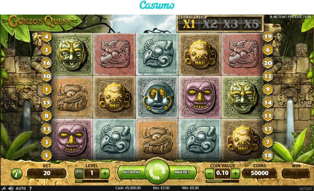 Gonzo's Quest hos Casumo