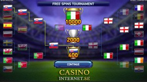 Football Champions Cup Free Spins