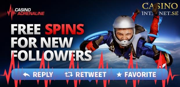 free spins bonus casino adrenaline