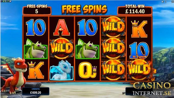 dragonz spelautomat free spins