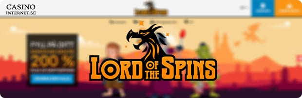 lord of the spins casino free spins