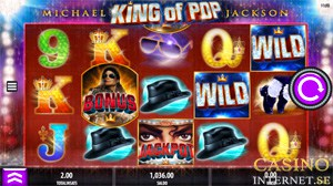 michael jackson king of pop slot bonus