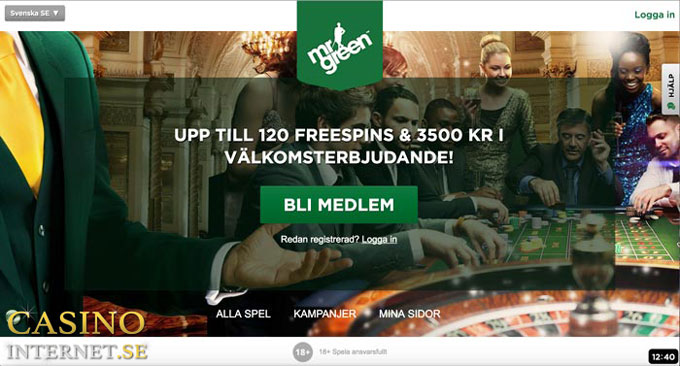 mr green casino hemsida