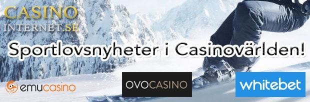 sportlovsnyheter online casino
