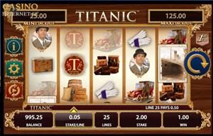 titanic slot från Bally
