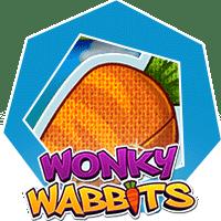 wonky wabbits spelautomat
